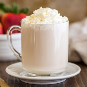 White Chocolate (Vegan and Keto-Friendly Cocoa Latte)